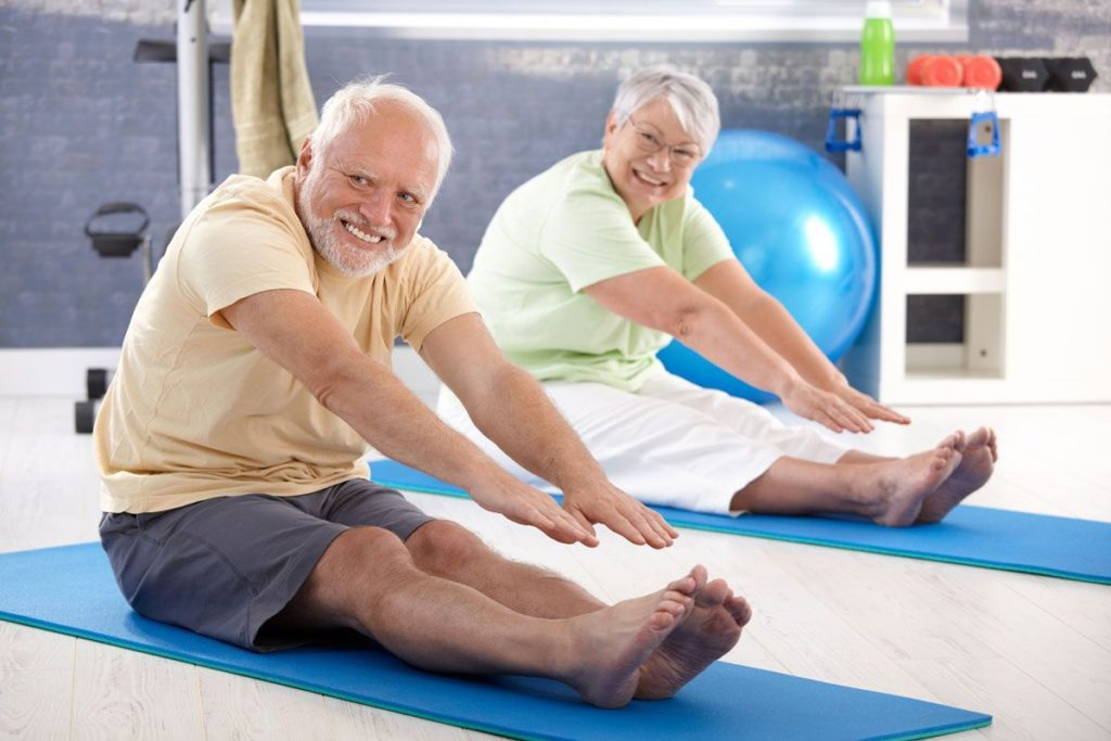 Физические нагрузки при артрите